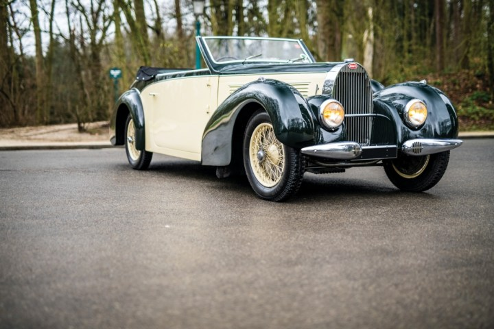 Bugatti Type 57 Cabriolet by Gangloff (1939) | RM Sotheby's