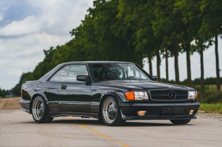 Subastas Monterey 2020 RM Sotheby's 1989 Mercedes-Benz 560 SEC AMG 5.6 'Wide-Body' 253.000$
