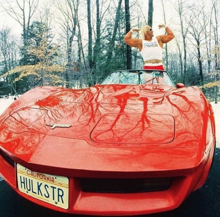 Stars & Cars 3 Hulk Hogan y su Corvette de 1980