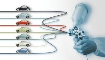 Historia de la pintura para coches