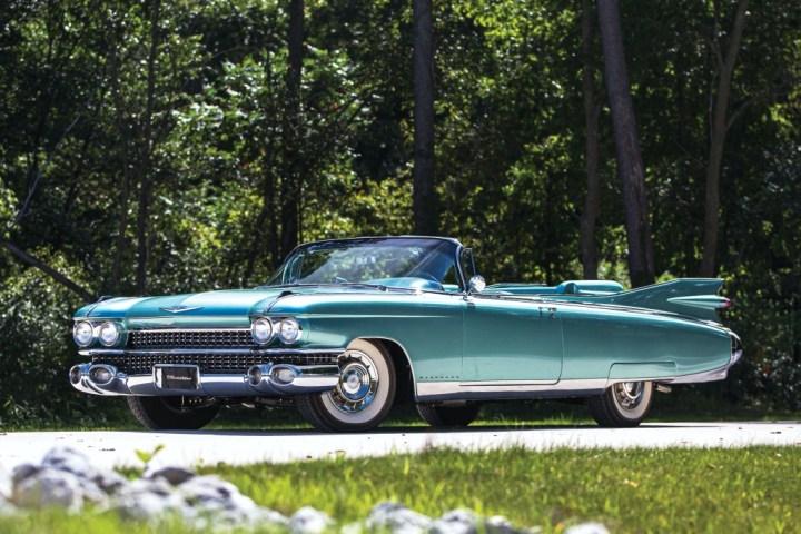 RM Sotheby's Elkhart 1959 Cadillac Eldorado Biarritz 229.600 $