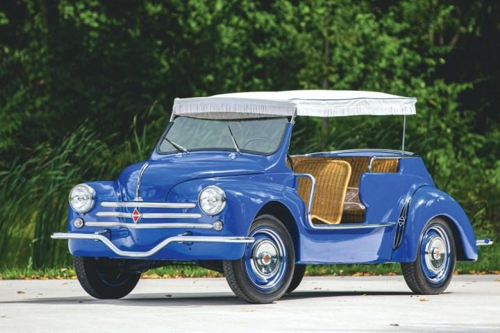 RM Sotheby's Elkhart 1961 Renault 4CV Jolly Ghia 95.200 $