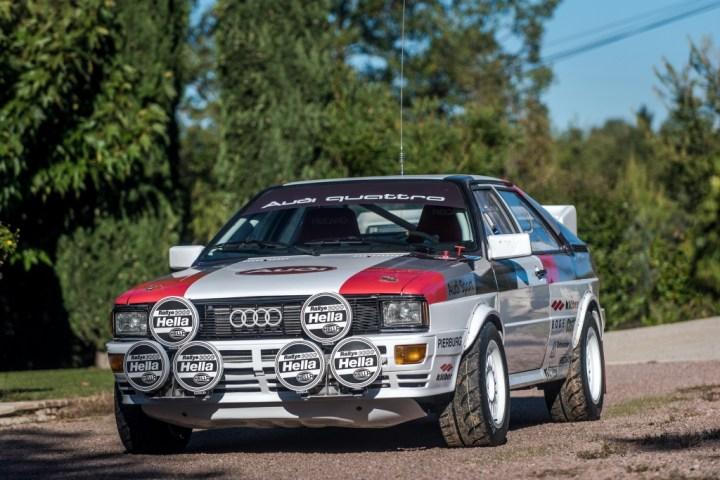 Subastas Otoño 2020 (2) RM Sotheby's London 1981 Audi quattro Group 4 _0 est 130 140.000 libras SIN VENDER