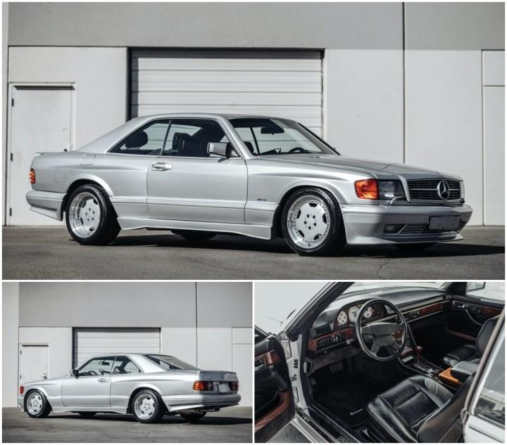1989 Mercedes Benz 560 SEC AMG 6 0 Wide Body 201.600 $ (est. 175-225.000 $) | RM Sotheby's