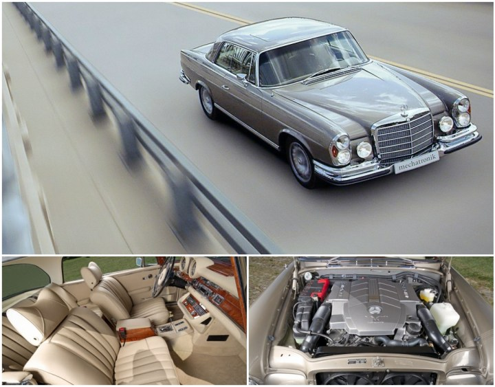 Restomod: Mercedes-Benz W111 de Mechatronik