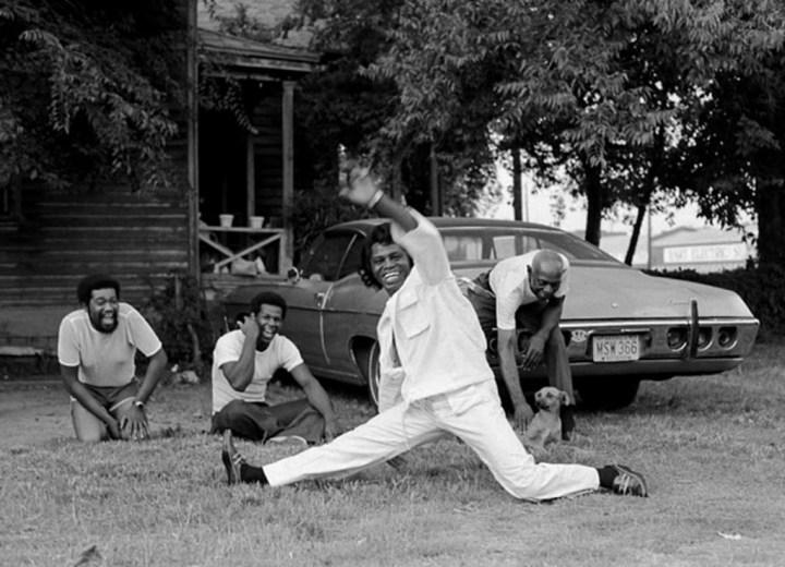 James Brown en Atlanta en 1979 | Harry Benson
