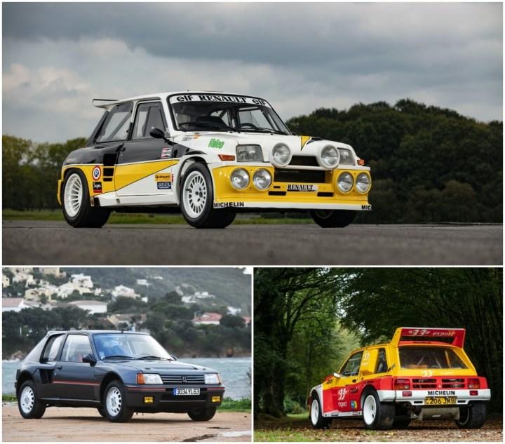 Subastas Paris 2021: Renault 5 Maxi Turbo (1985) - Peugeot 205 Turbo (1984) - MG Metro 6R4 (1985) | Artcurial
