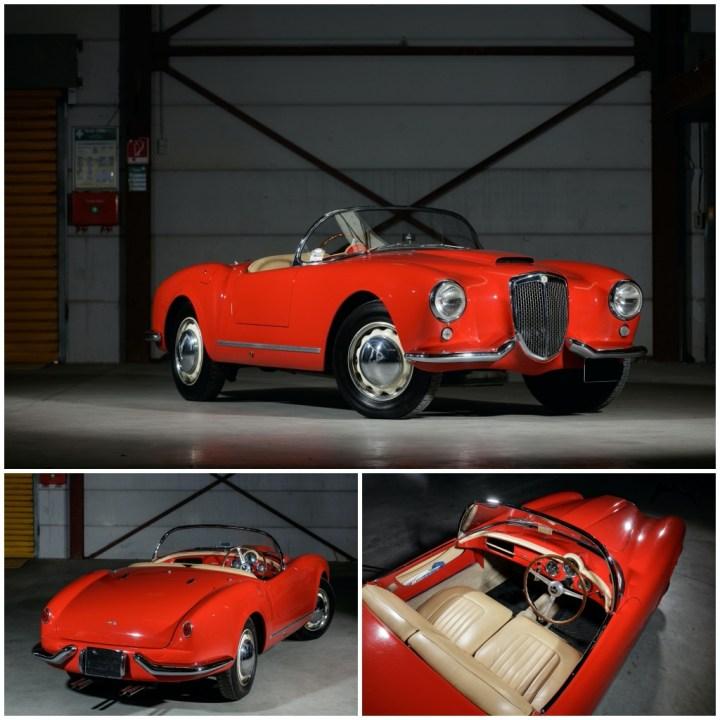Subastas Paris 2021: Lancia B24 Spyder America (1955) | Artcurial