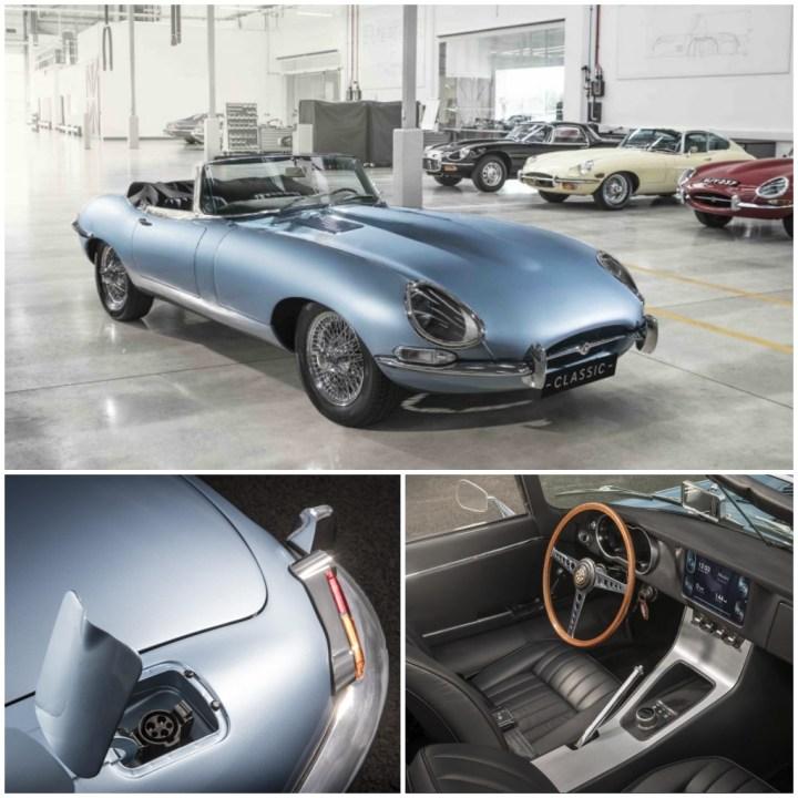 Clásicos eléctricos: Jaguar