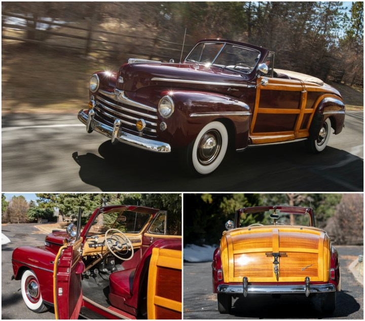 1947 Ford Super DeLuxe Sportsman Convertible est 170-200.000$ venta 190.400$ | RM Sotheby's