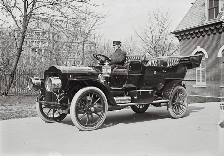 El White Model M que usó el presidente de los EEUU William Taft