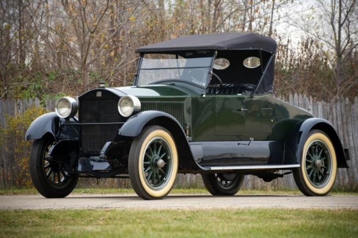 Coches a vapor: Un Stanley Model 740 Roadster a vapor de 1922