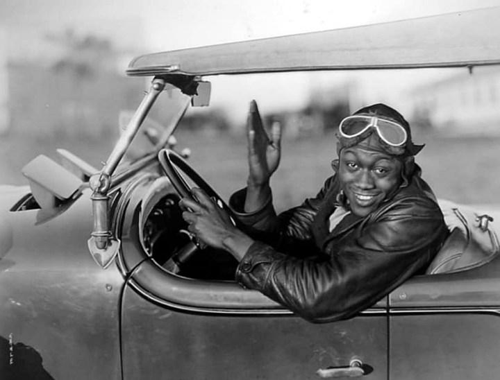 Stars & Cars: El actor y comediante americano Stepin Fetchit en la cima de su carrera en los años 30