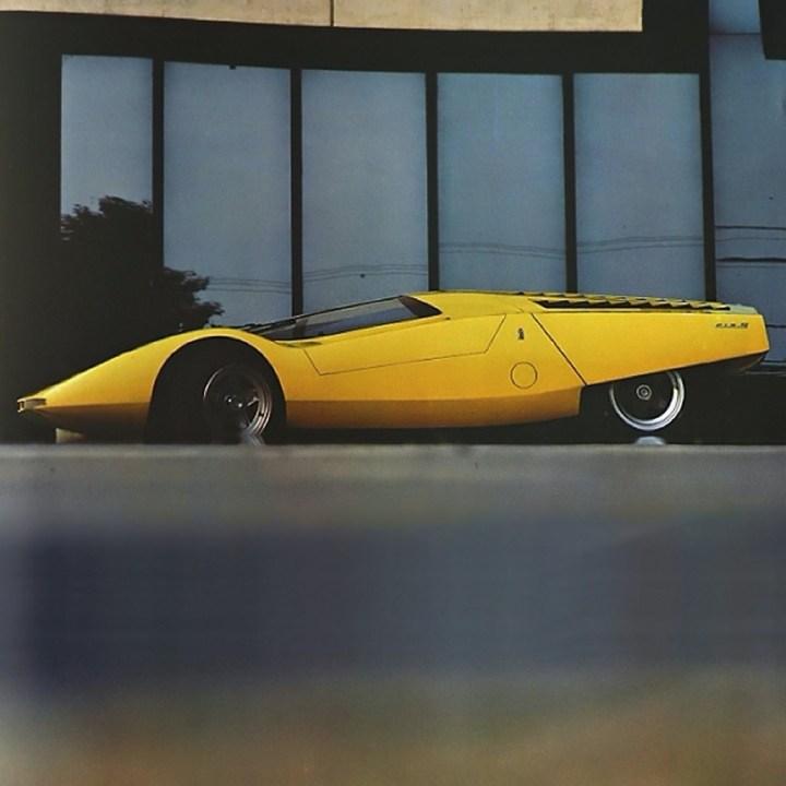 Concept cars: 1969 Ferrari 512S Berlinetta Speciale