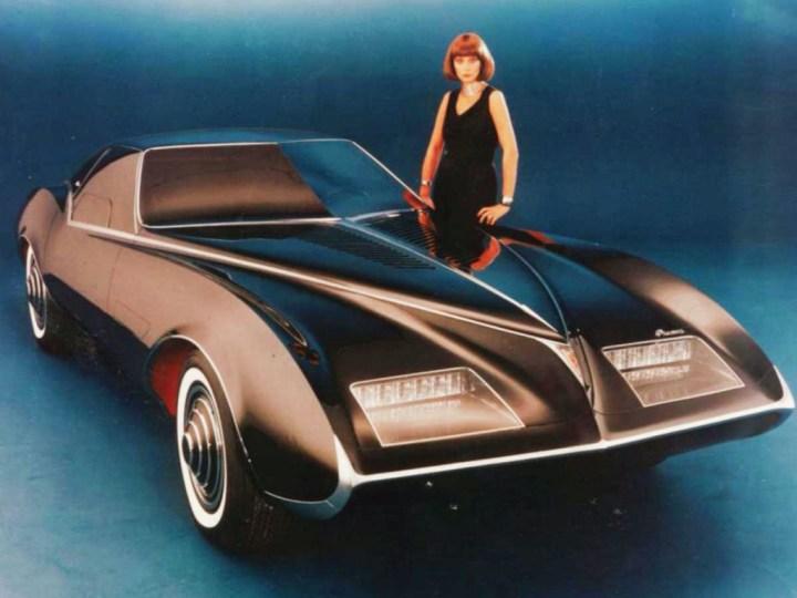 Concept cars: 1977 Pontiac Phantom