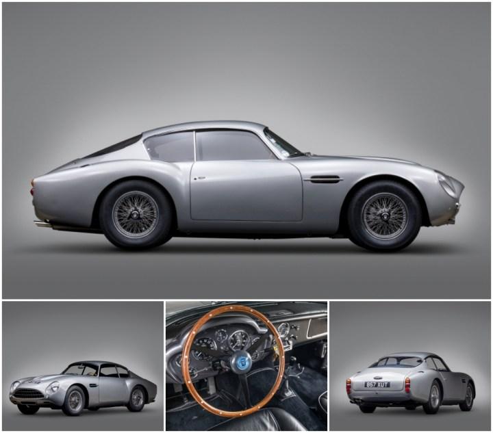 Subastas monterey 2021: Aston Martin DB4GT Zagato de 1962 | RM Sotheby's