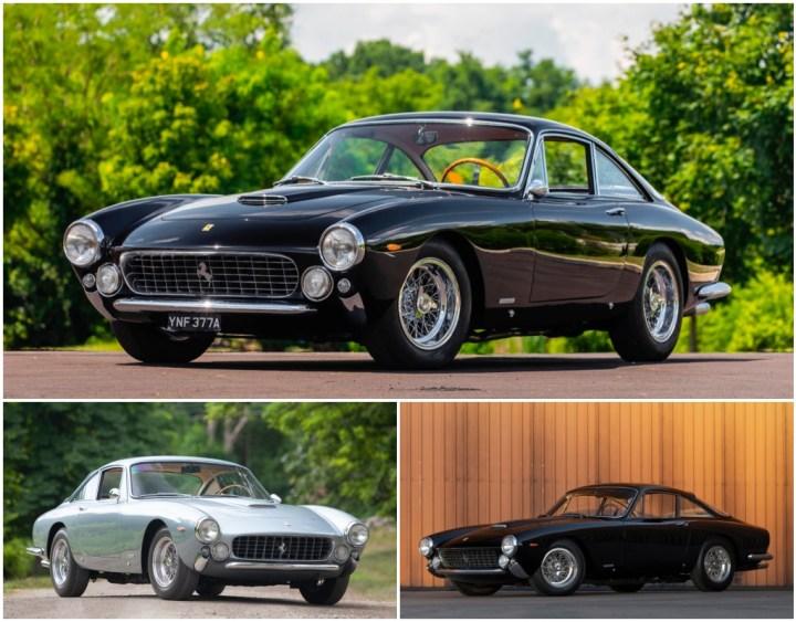 Subastas monterey 2021: Ferrari 250 GT Berlinetta Lusso de 1963, 1964 y 1963 | RM Sotheby's / Gooding / Mecum