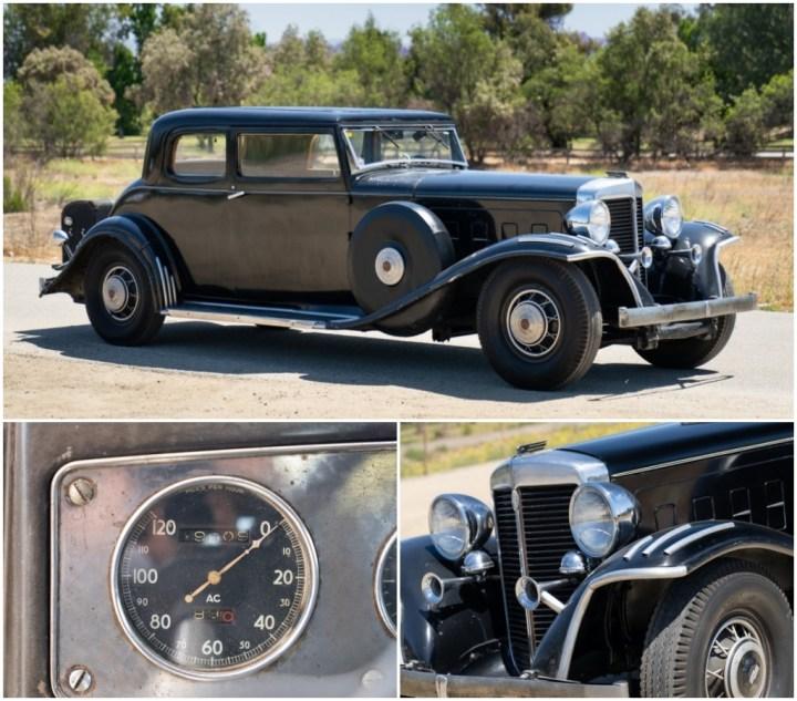1932 Marmon Sixteen est 400-600.000 $ 280.000 $   Gooding