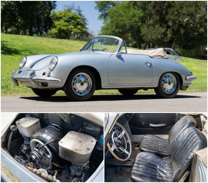 Subastas Monterey 2021: 1964 Porsche 356 est 650-850.000 $ 1,039 M$   Gooding