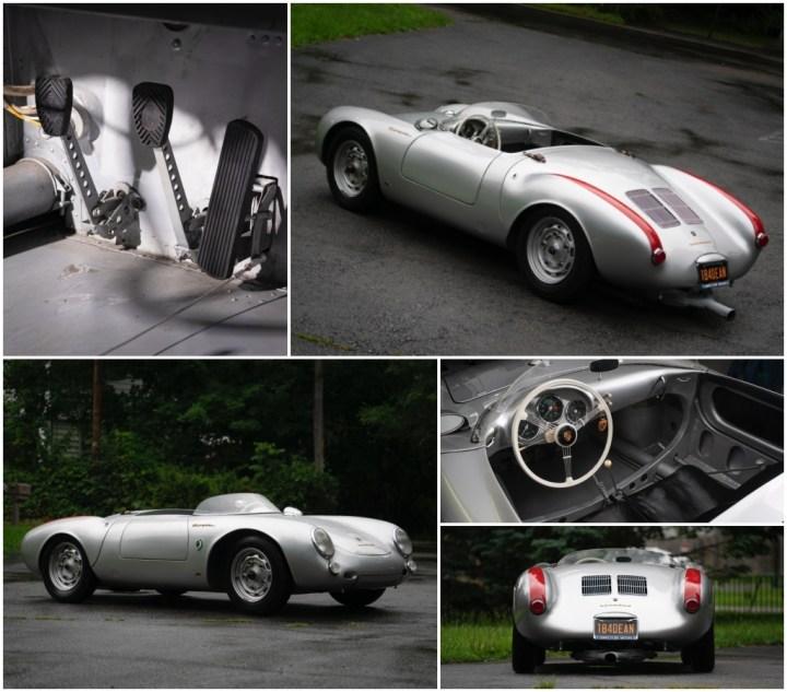 Subastas Monterey 2021: 1955 Porsche 550 Spyder est 3,8-4,2 M$ sin vender   RM Sotheby's