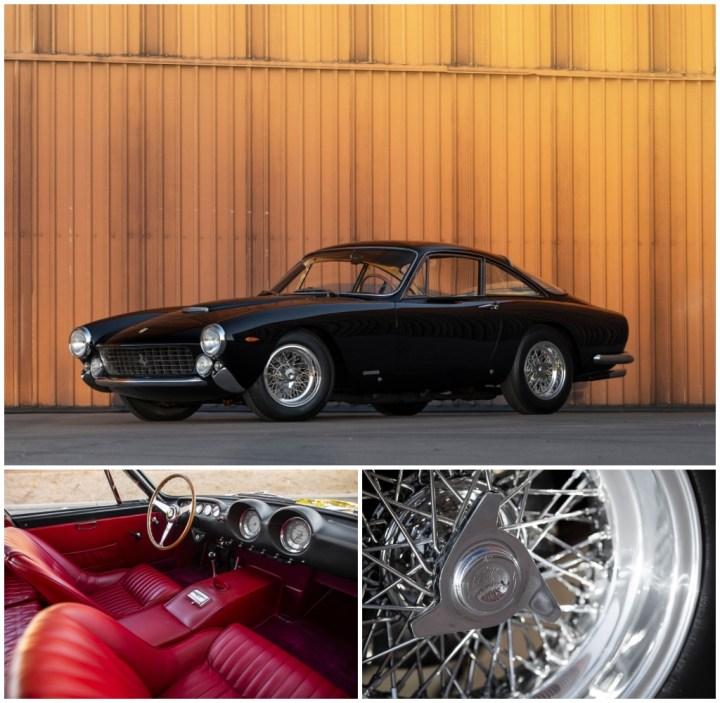 1963 Ferrari 250 GT Berlinetta Lusso by Scaglietti est 1,5-1,75 M$ 1,875 M$   RM Sotheby's