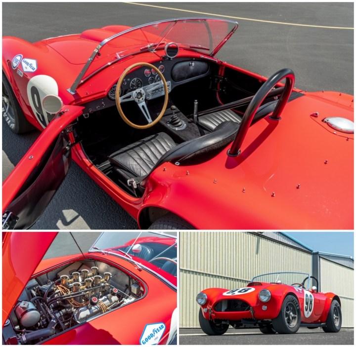 Subastas Monterey 2021: 1963 Shelby 289 Cobra Works est 3,75-4,25 M$ 4.130.000 $   RM Sotheby's