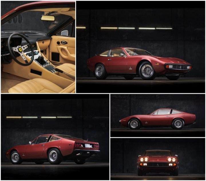 Subastas Monterey 2021: 1972 Ferrari 365 GTC4 by Pininfarina est 250-325.000 $ 313.000 $   RM Sotheby's
