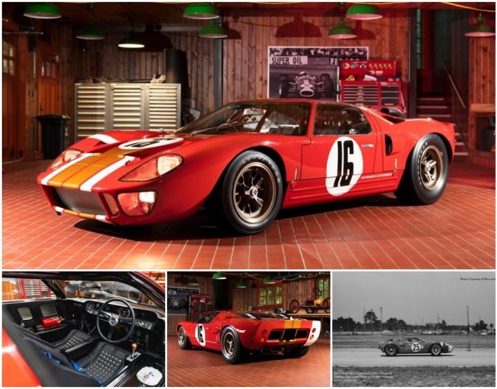 Ford GT40 Alan Mann Lightweight de 1966 | Gooding