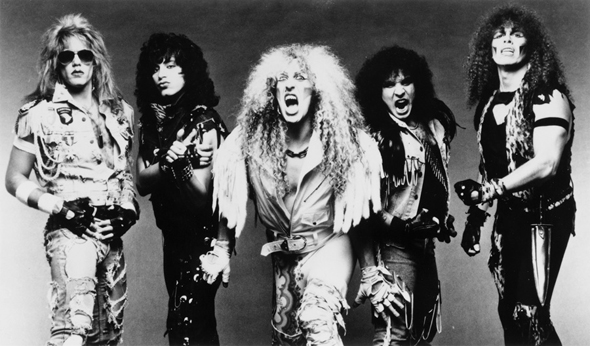 The most rocking' band in all the land —Twisted Sister!