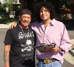 Danny Trejo and Gil Medina