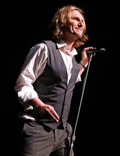 John Waite On Stage
