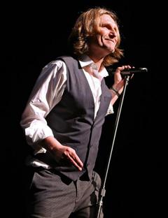 John Waite On Stage
