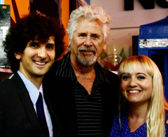 Gabriel Diani, Barry Bostwick and Etta Devine