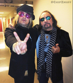 Music In The Blood: Chip Z'Nuff and Ace Frehley