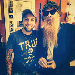 Jake Scherer  and Billy Gibbons