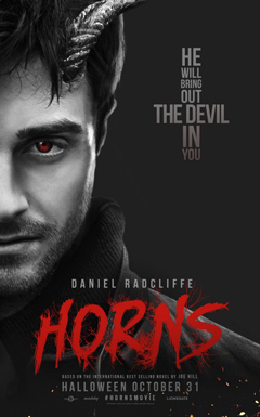 'Horns' hits theaters on Halloween.