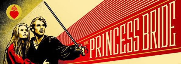 'The Princess Bride' by Shephard Fairey