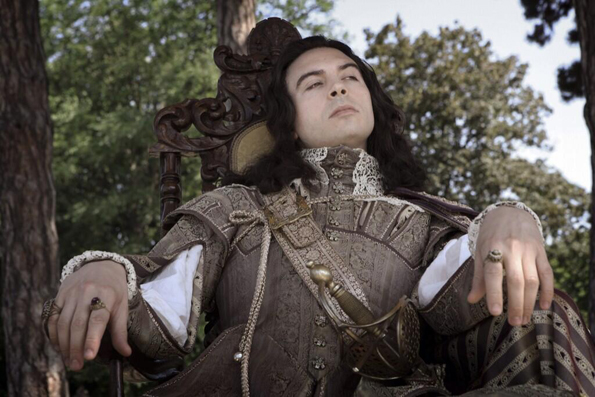 Ryan Gage as Louis The XIII in 'The Musketeers'