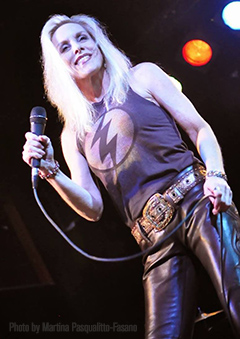 Cherie Currie: Still rockin' the stage!