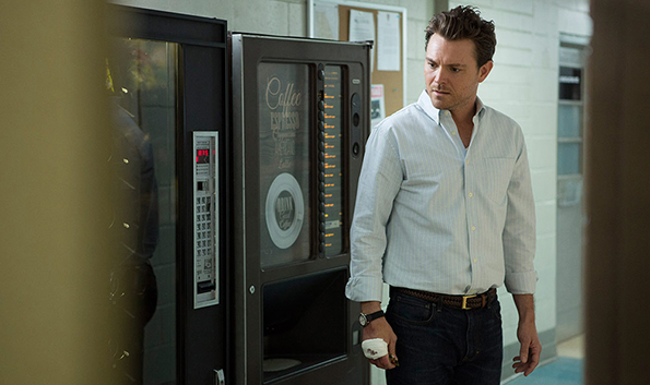 Clayne Crawford as Teddy on Sundance TV's 'Rectify'