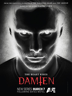 'Damien' airs Mondays at 9/8c on A&E.