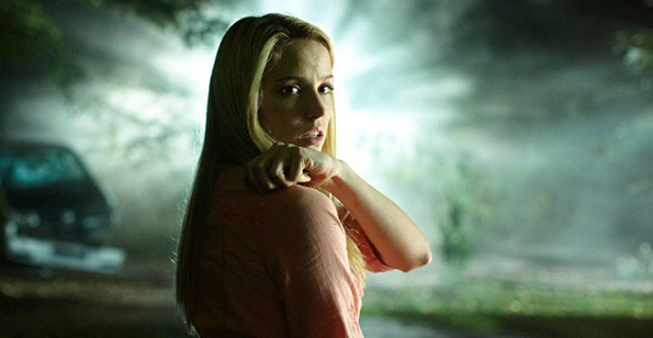 """Mia Faith as Sarah Ellroy in """"They're Watching"""""""