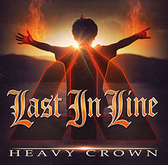 "Last In Line's debut album, ""Heavy Crown'"