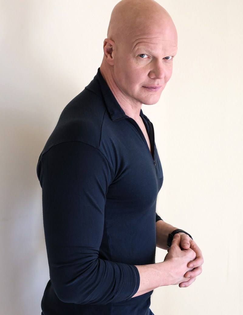 Derek Mears is an unstoppable force. - Photo by Brezinski Photography