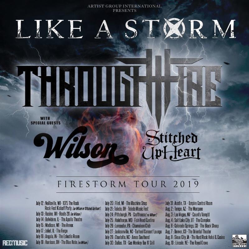 Firestorm Tour 2019