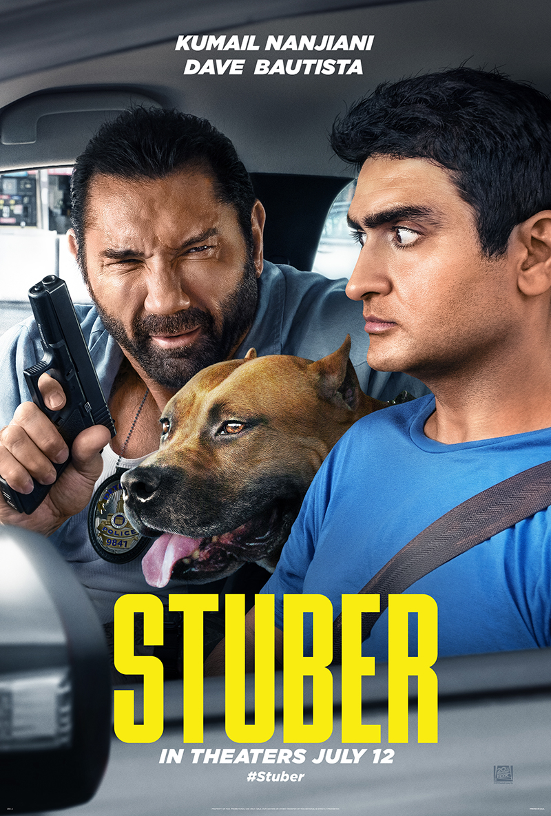 Stuber Theatrical Poster 2019