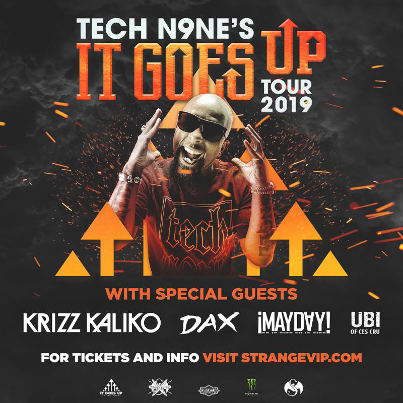 Tech Nine Tour Dates 2019