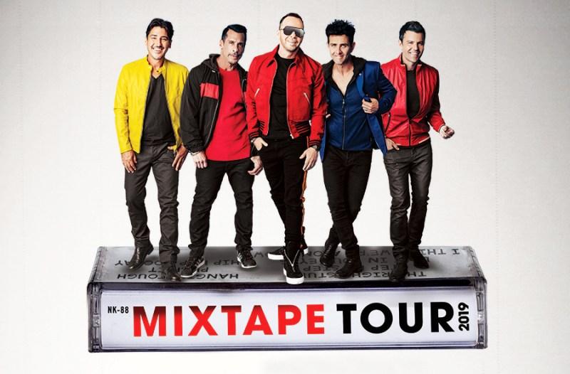 NKOTB - Mixtaoe Tour