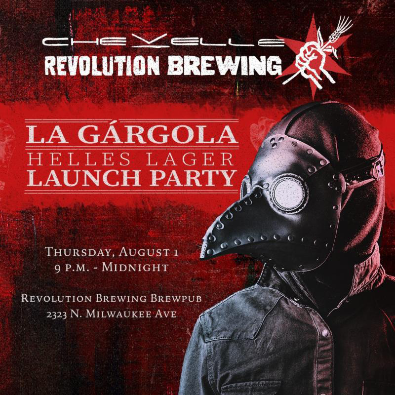 Chevelle's La Gargola by Revolution Brewing