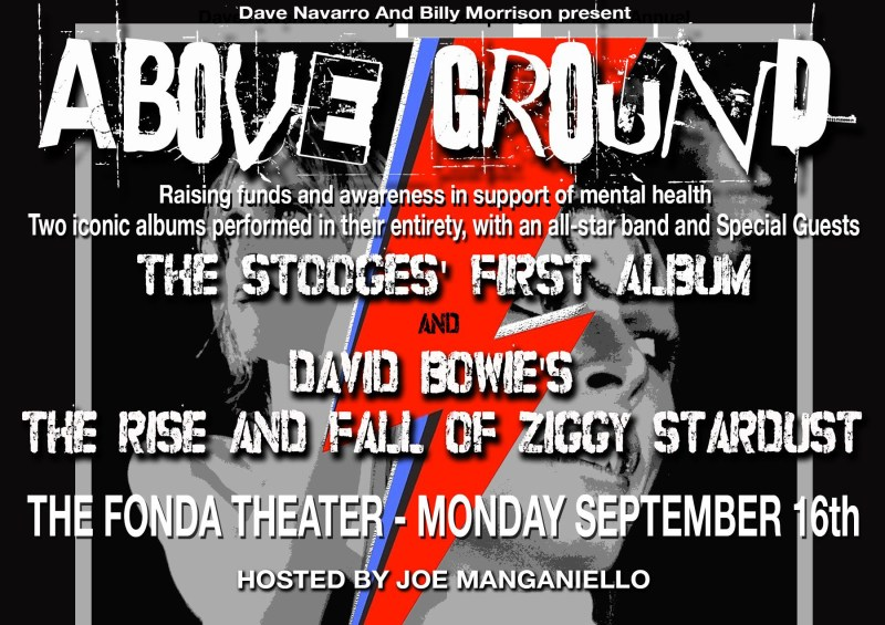 Above Ground Benefit Concert 2019